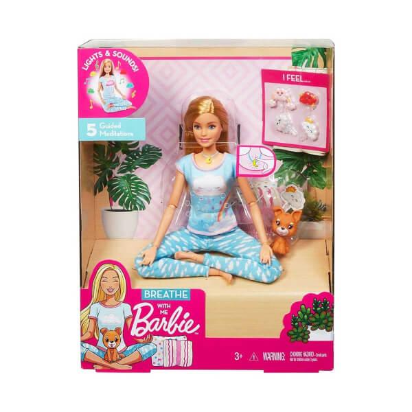Barbie Nefes Egzersizi Bebeği GNK01