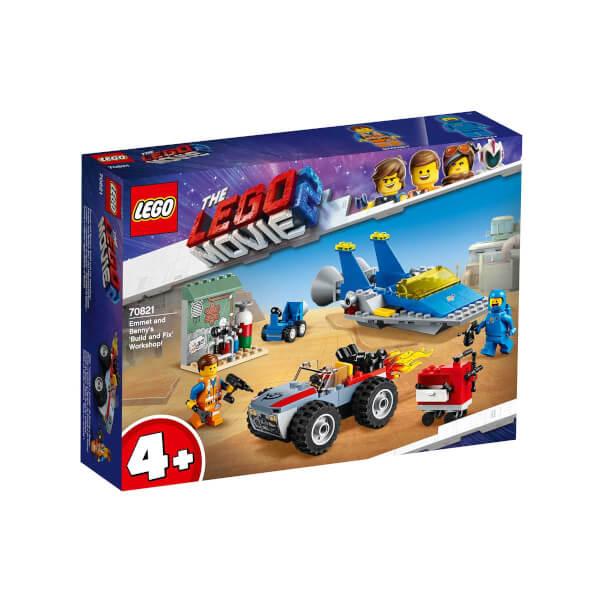 LEGO Movie 2 Emmet ve Benny'nin 'Yapım ve Tamirat' Atölyesi 70821