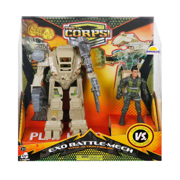 The Corps Zırhlı Robot Oyun Seti